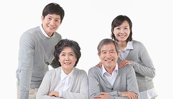 자산형성 사업-노부부와 젊은부부의 모습